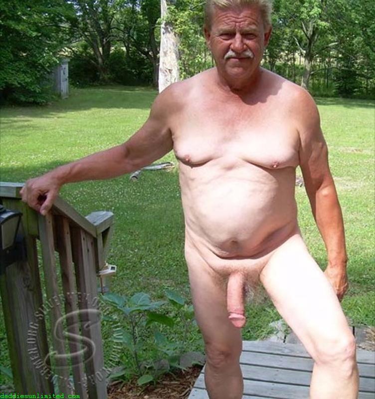 Alter Nackter Mann