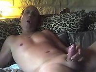 Outdoor cruising Tube clips showing lad truck drivers in gloryhole sucking tube.