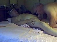 Daddy Strokes And Sucks : gay silver daddies jacking off