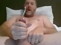 cumming for you on webcam