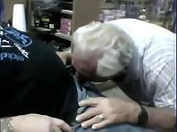 Chubby Gray Older gay Men bisex video pissing.