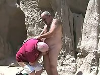 Siver Daddies Video : grandpa suck and fuck