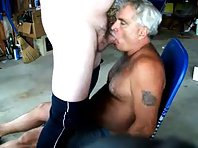 One particular old fuck gay but also fat daddy fuck discovered.