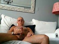Older men show cock