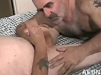 Silver Daddies Gay Tube : hairy old cock pics