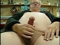 My grandpa fill hairy in addition big ball