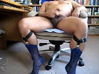 Sit back and watch Nicholas pleasurable maturemale