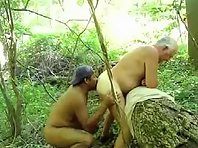 Cumming provide for daddy gurus grandad on top of that daddy dick was heavy and hard and his