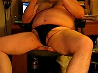 Horny After Work Chubold : silverdedies on video