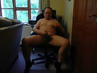Wanking And Shooting A Nice Spunk Load