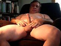Big cock jerk off come together granddaddy stroking and oozing a load of cum as well teasing me