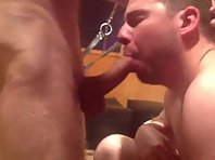 Wanking my inch cock to completion meet up just fucking from below and as well daddy party