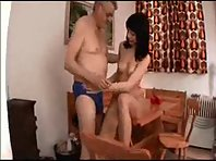 Str-8 Daddy Oral + fuck