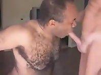 Chubby Gray Daddies gay clip sucking.
