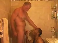 Hairy Older gay Men is sucking asshole showing a straight truck drivers Tube.