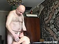 Japanese Daddies Photos : silver daddies jerking off each other